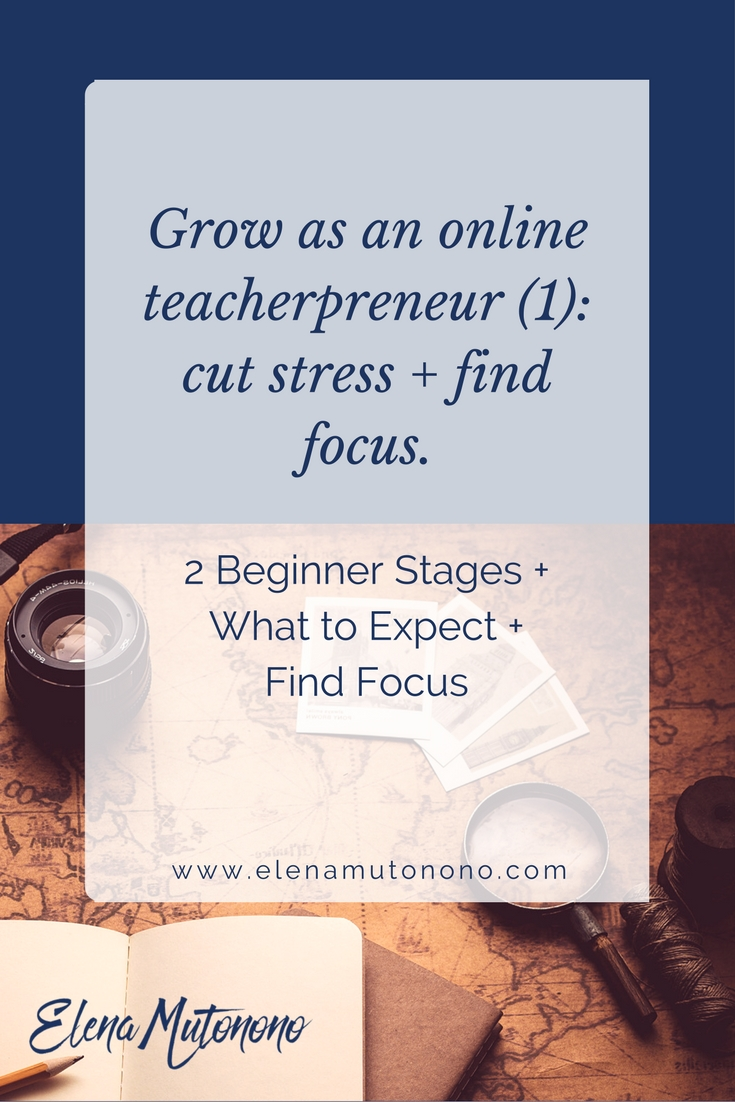 Online teacherpreneur