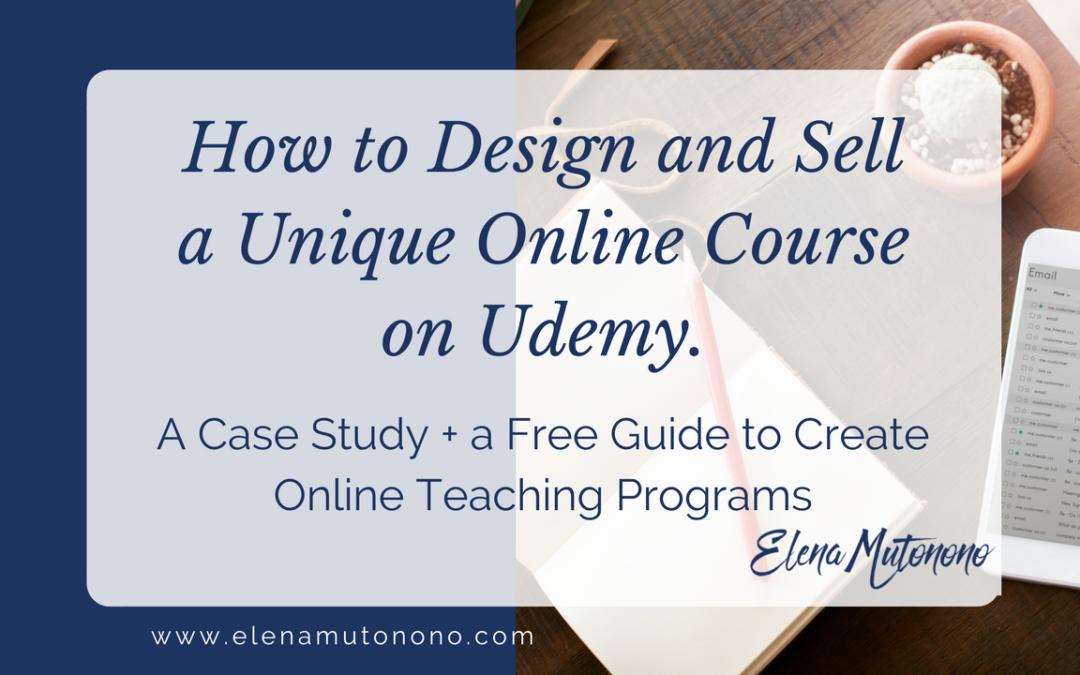 Design Unique Course on Udemy Featured
