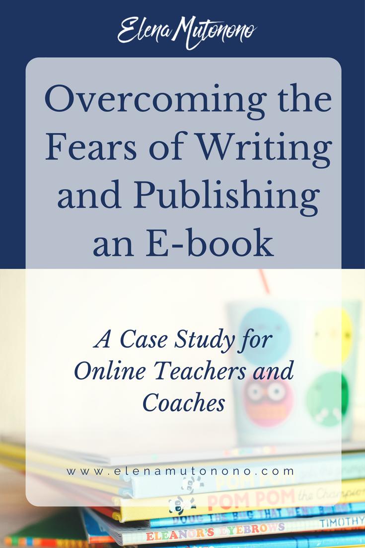 Publish an e-book