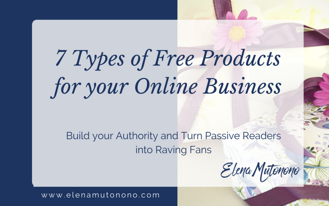 Seven types of free products for your business