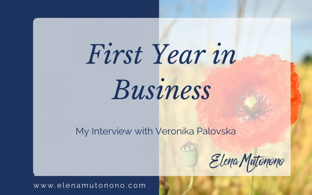 First year in business: my interview with Veronika Palovska