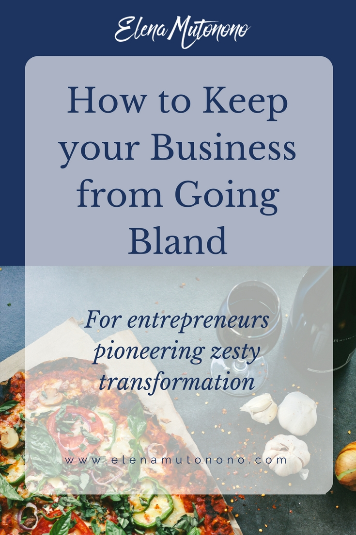 How do you keep your business from going bland and losing taste for your audience? In this post you find some creative ideas to keep your zesty taste alive.