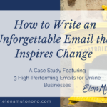 How to write an unforgettable email that inspires change