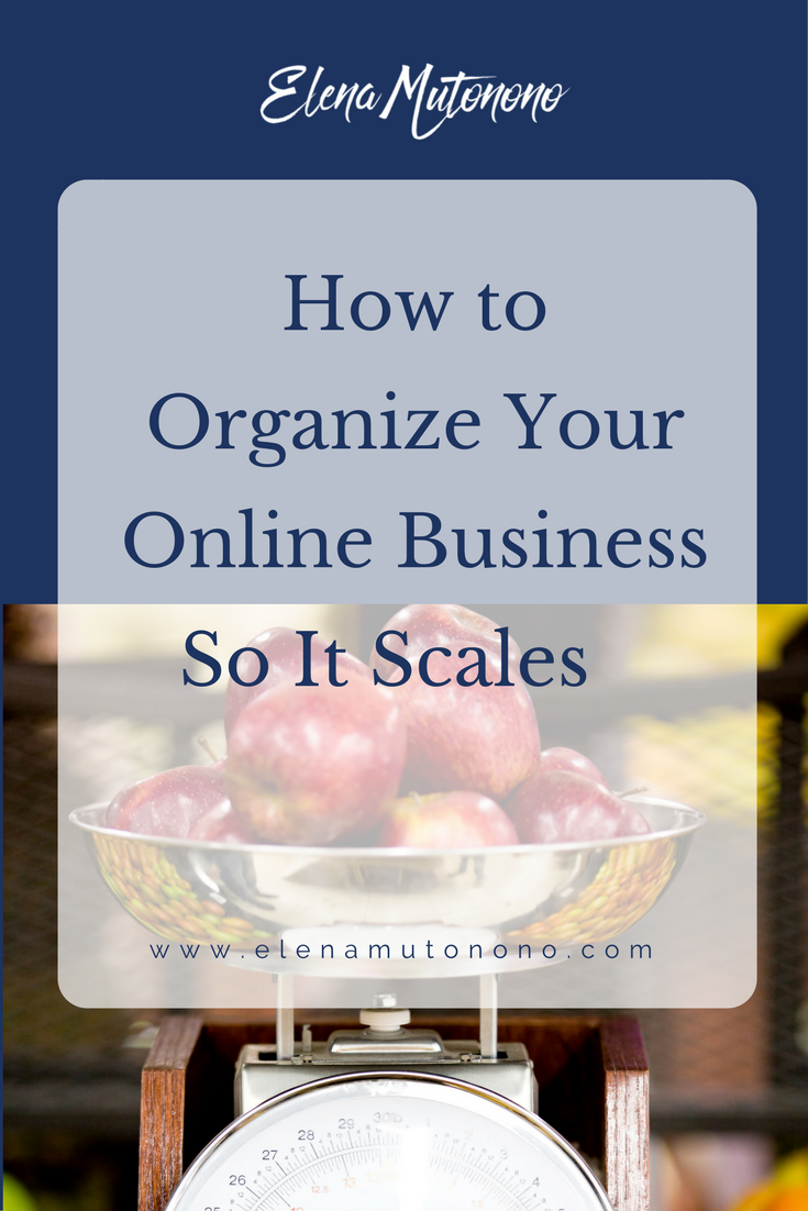 Your business is growing, but it's killing you in the process? You might need to organize so it scales seamlessly. Here's how.