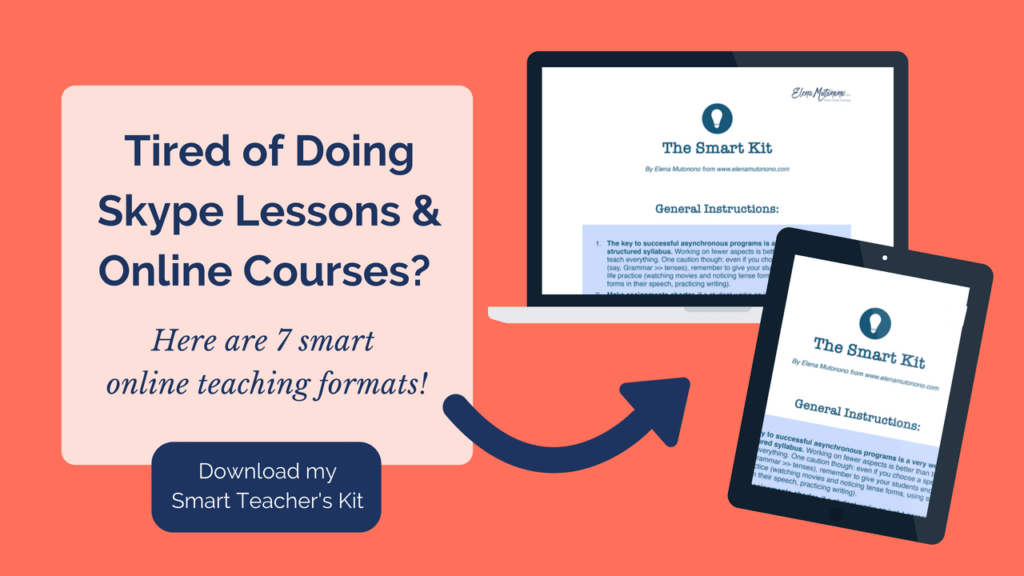 Smart online teaching