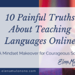 10 painful truths about teaching languages online