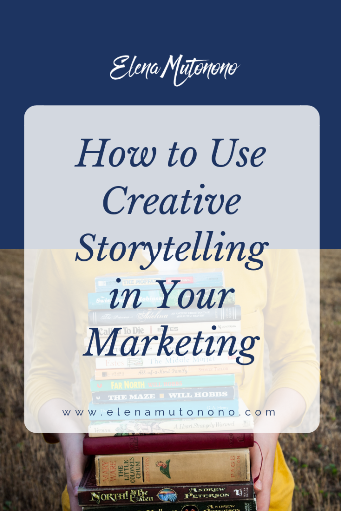 Marketing with storytelling