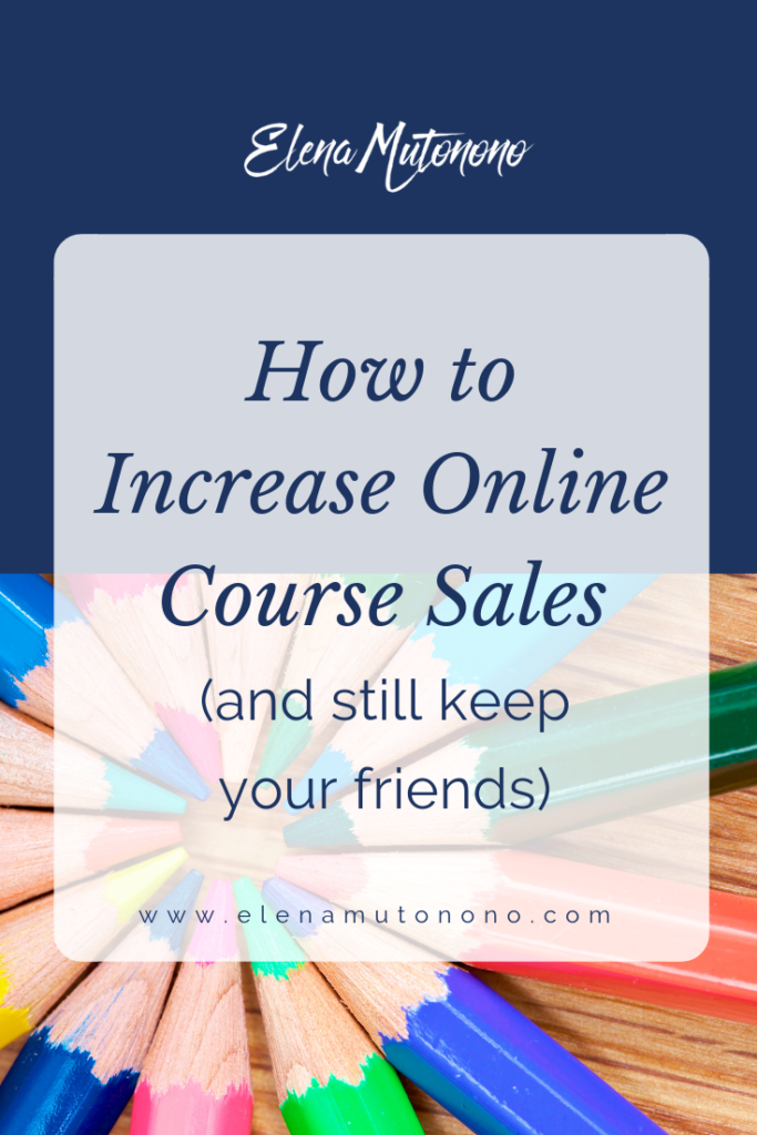 increase course sales