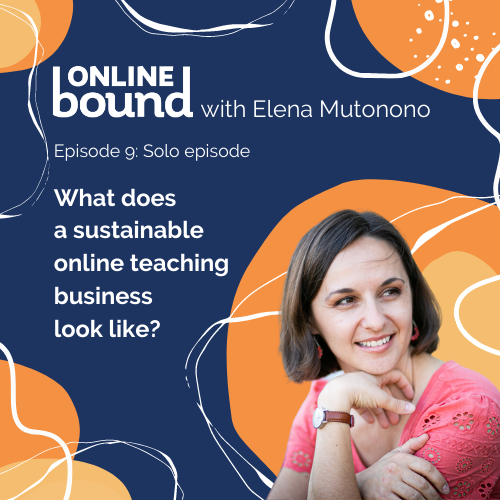Sustainable Online Teaching